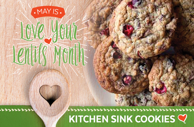 Did you know May is Love Your Lentils Month?