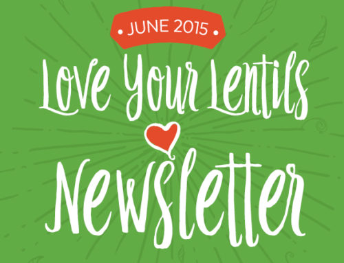 Love Your Lentils Newsletter